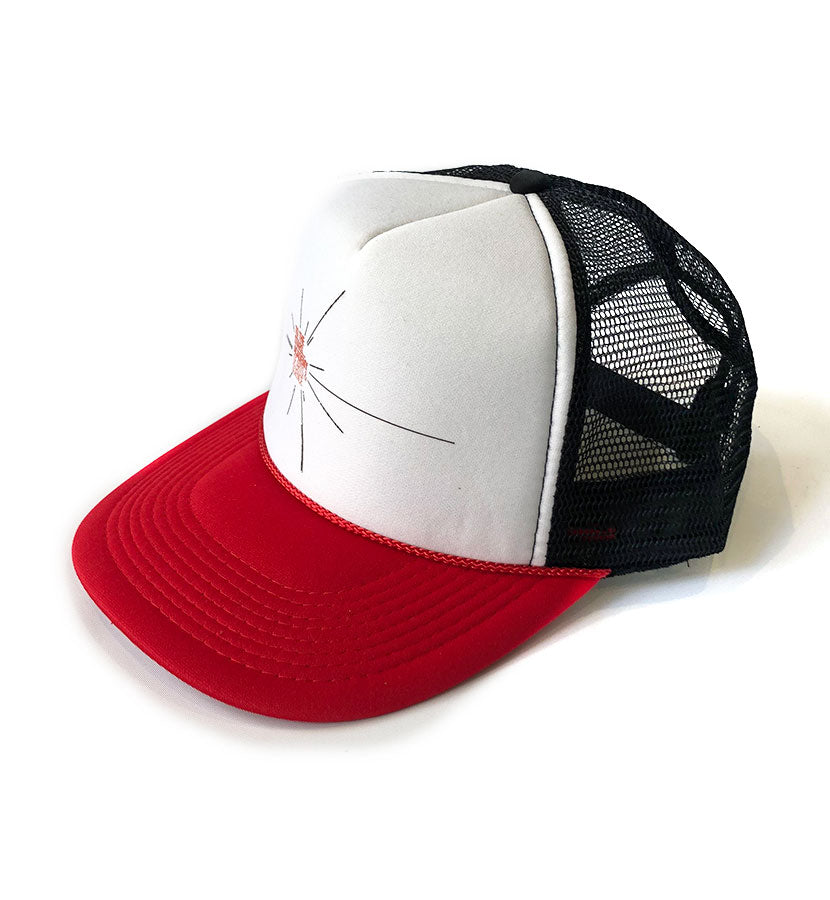 f035a495260b22 To The Stars... Academy of Arts   Science Pulsar Star Trucker Hat ...