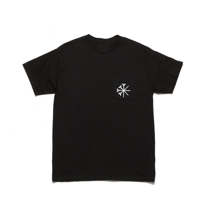 Sekret Machines Gods Star Pocket T-Shirt Black - To The Stars...