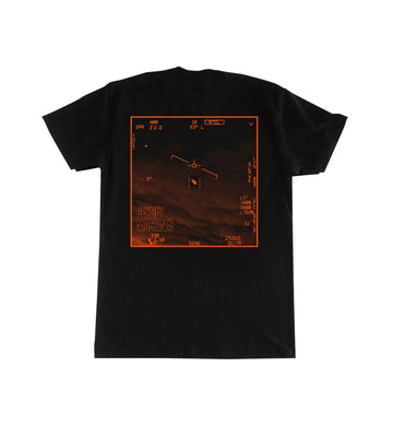 Sekret Machines UAP T-Shirt Black/Orange Back
