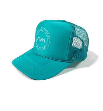 EDMPL Trucker Hat Jade/White