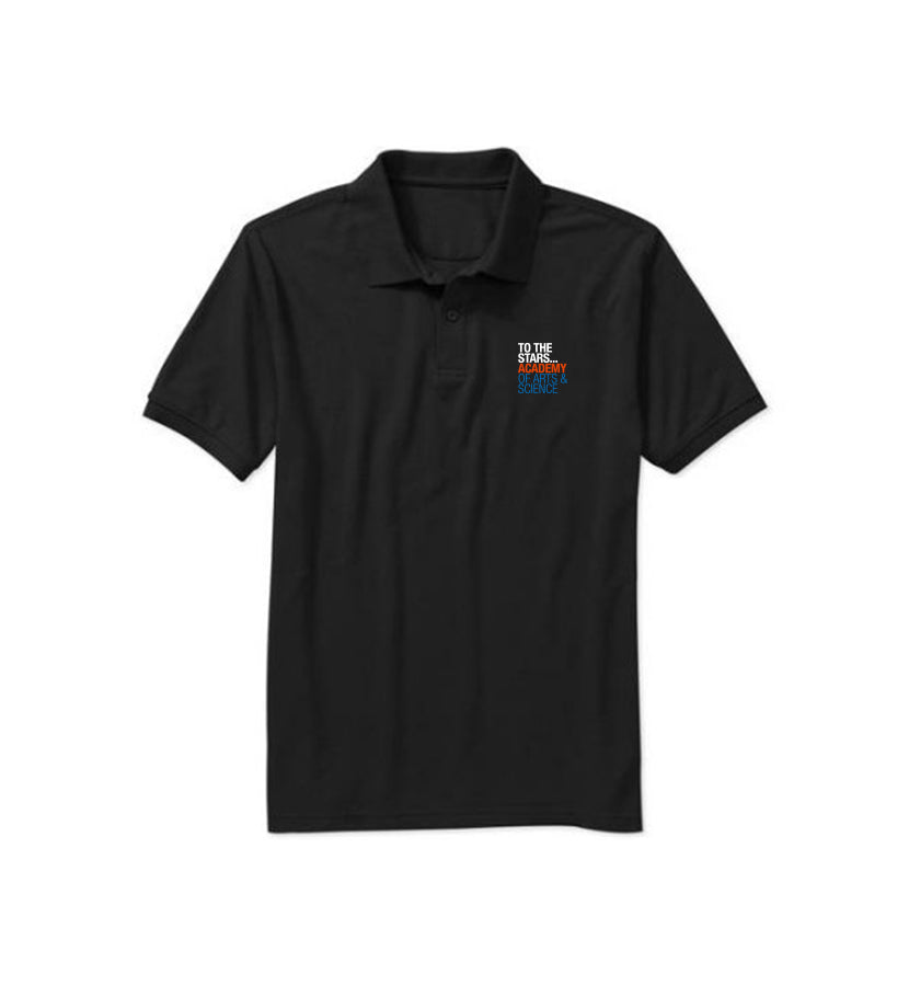 Of Arts & Science Text Logo Polo
