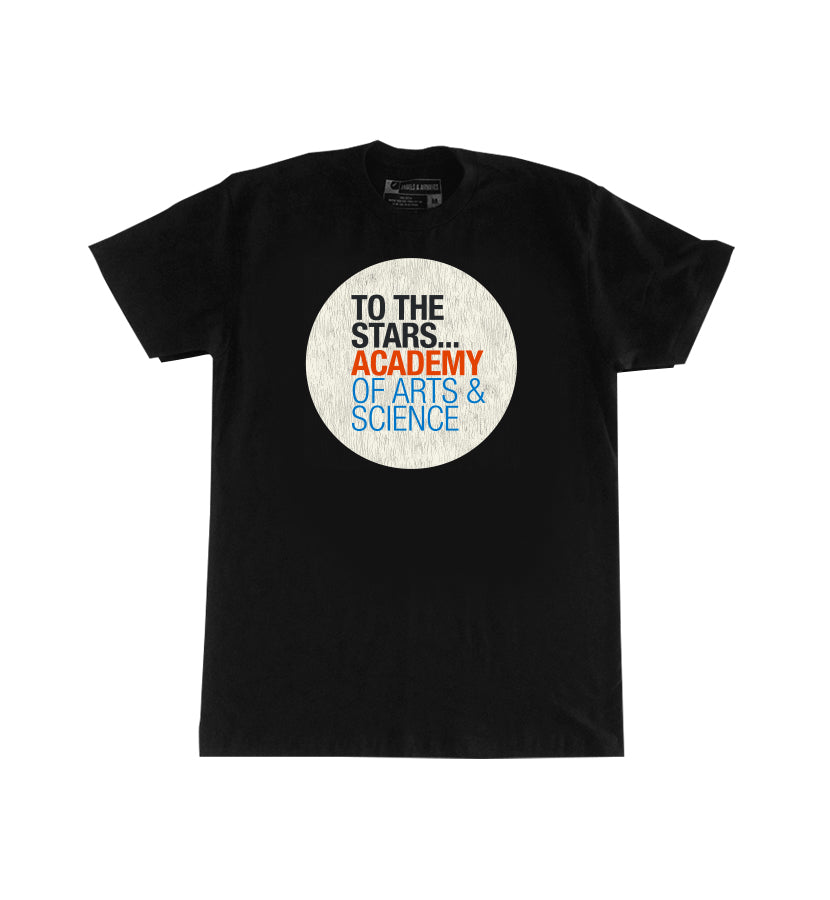 Of Arts & Science Text Logo T-Shirt