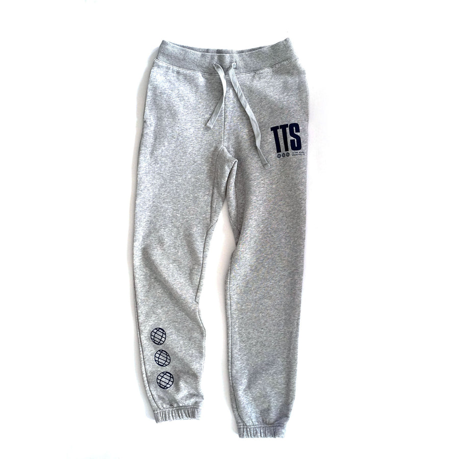 To The Stars... Acronym Unisex Joggers Heather Grey