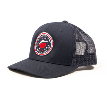 Apollo Trucker Hat Navy