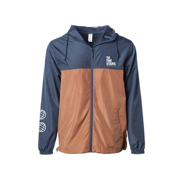 Bold Windbreaker Jacket Navy/Saddle | To The Stars...