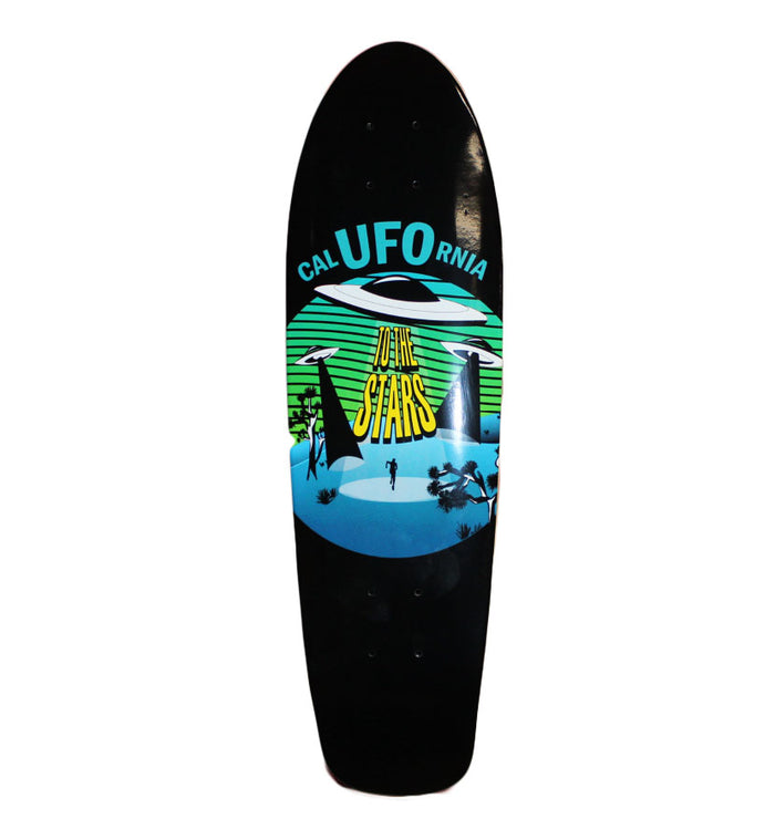 To The Stars... CalUFOrnia Cruiser Deck Black - To The Stars...
