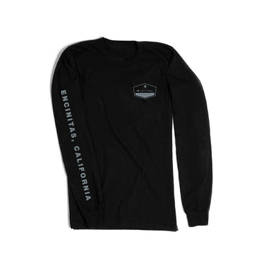 To The Stars... Established L/S T-Shirt Black/Grey