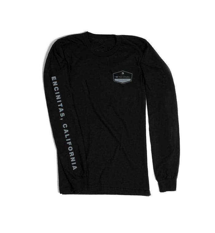 Established L/S T-Shirt Black/Grey