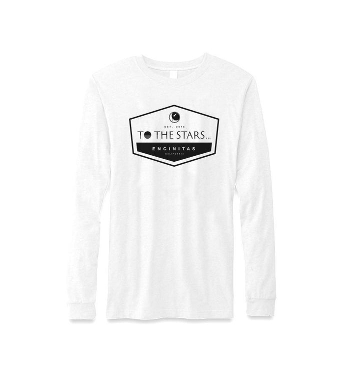 To The Stars... Established L/S T-Shirt White/Black - To The Stars...