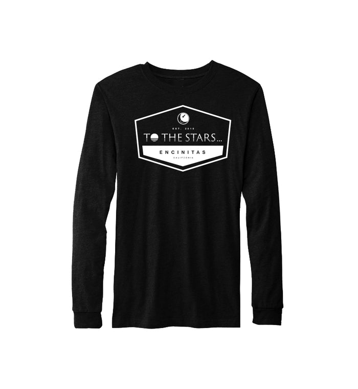 To The Stars... Established L/S T-Shirt Black/White - To The Stars...
