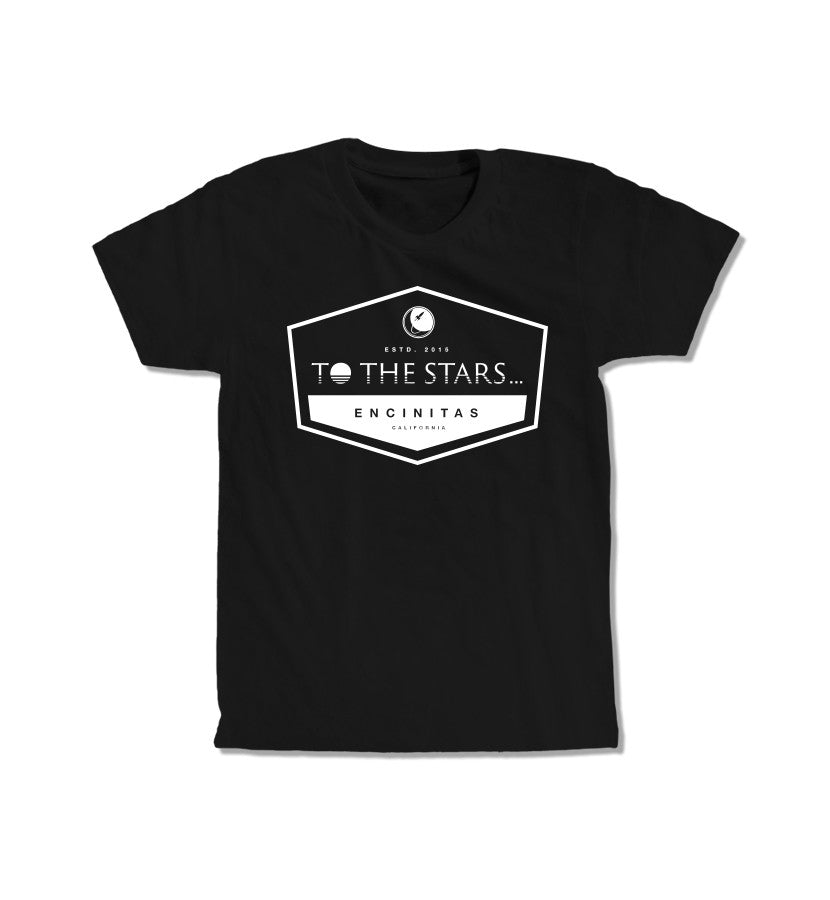 To The Stars... Established T-Shirt Black/White - To The Stars...