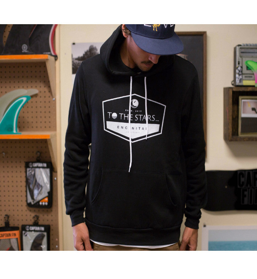 To The Stars... Established Unisex Pullover Hoodie Black - To The Stars...