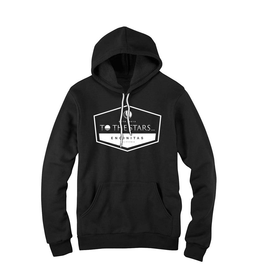 To The Stars Inc.-Established Unisex Pullover Hoodie-Black-x-small-To The Stars...
