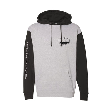To The Stars Inc. Established Unisex Pullover Hoodie Heather Grey/Black - To The Stars...