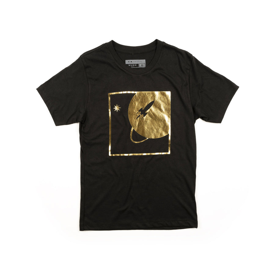 To The Stars Full Icon Foil T-Shirt Black | ToTheStars.Media
