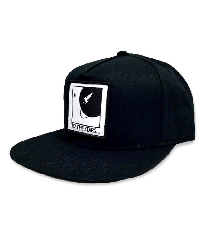 Full Icon Patch Snapback Hat