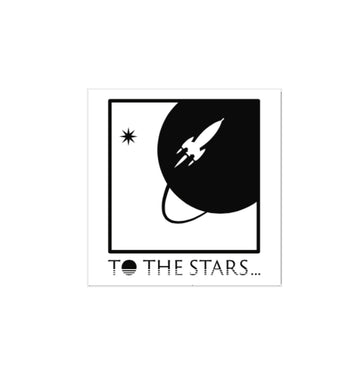 To The Stars Inc. Full Icon Sticker - To The Stars...