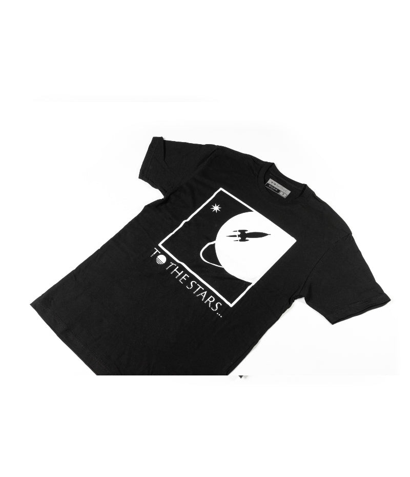 To The Stars... Full Icon T-Shirt Black