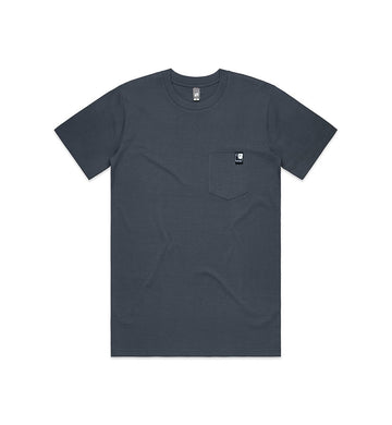 Full Icon Tag Pocket T-Shirt Navy