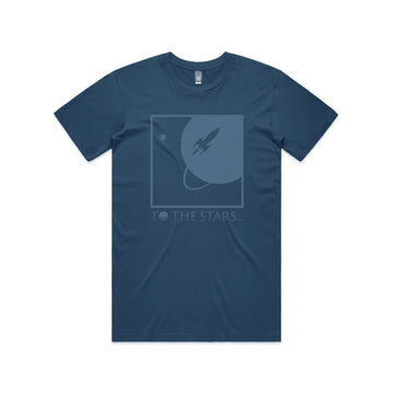 Full Icon Tone T-Shirt Navy