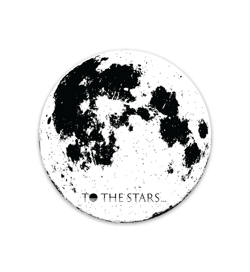 To The Stars Inc. Full Moon Sticker - To The Stars...