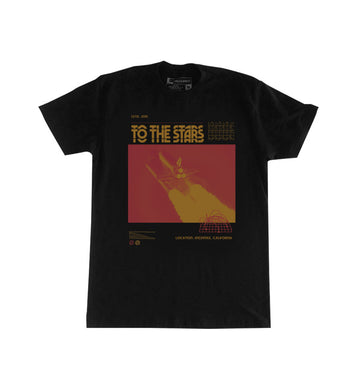 To The Stars Inc. Glitch T-Shirt Black - To The Stars...
