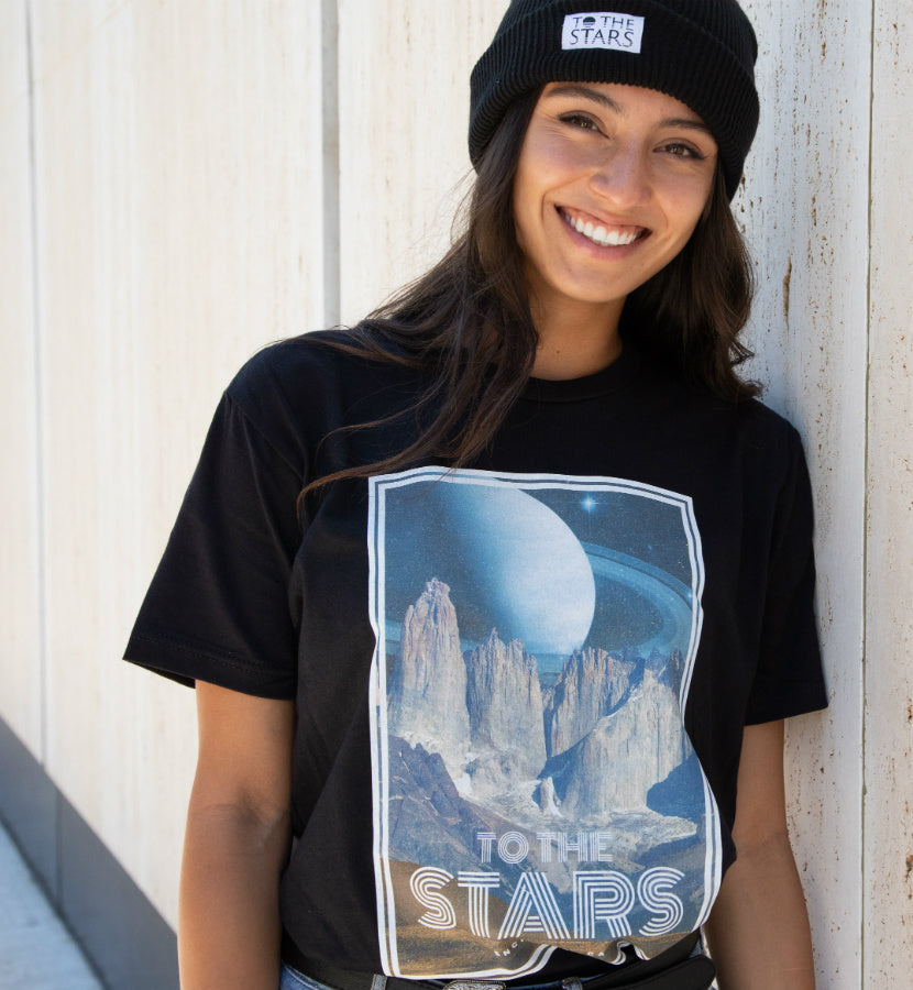 To The Stars... Haven T-Shirt Black - To The Stars...