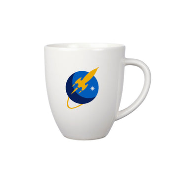To The Stars Inc. Liftoff Logo Coffee Mug White - To The Stars...