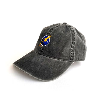 To The Stars Inc. Liftoff Logo Dad Hat Charcoal Grey - To The Stars...
