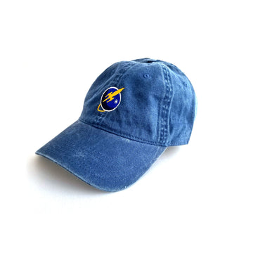 Liftoff Logo Dad Hat Navy
