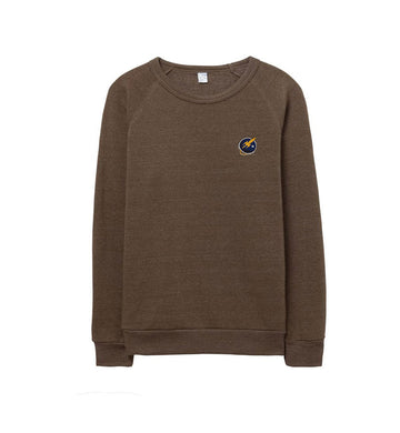 Liftoff Logo Embroidered Sweatshirt Dark Olive