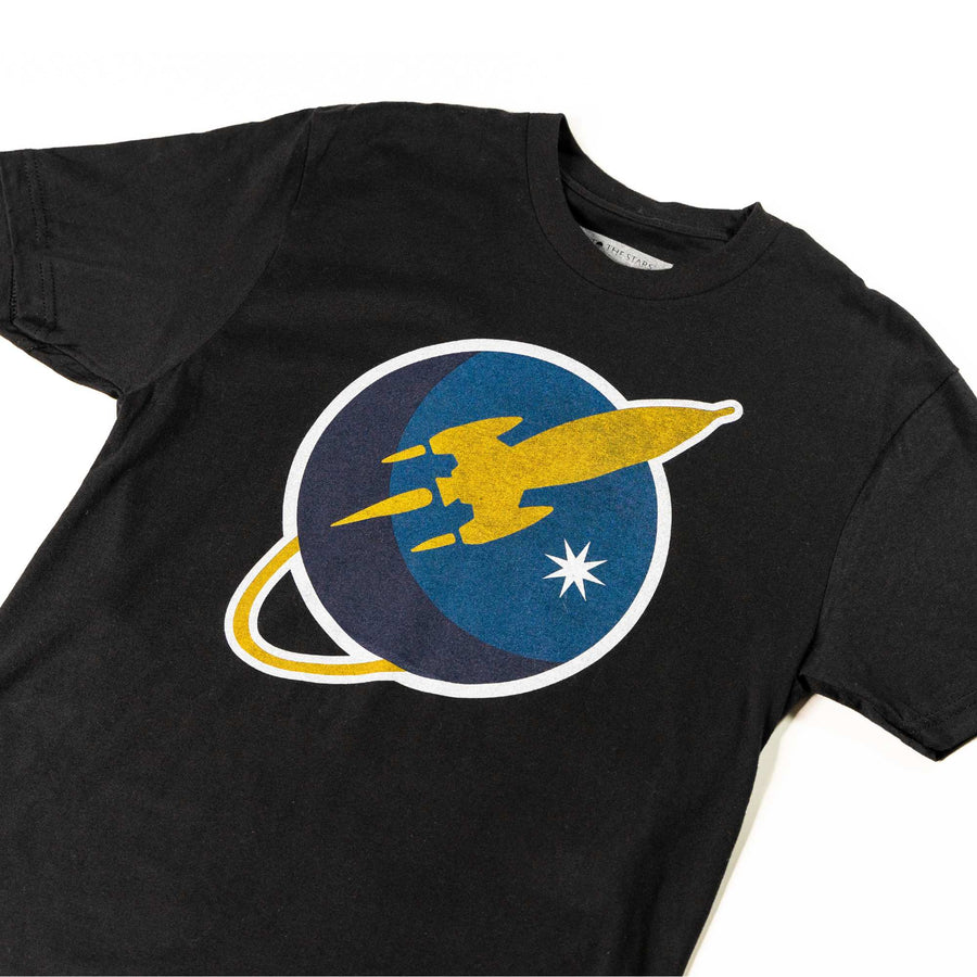 To The Stars Inc. Liftoff Logo T-Shirt Black - To The Stars...