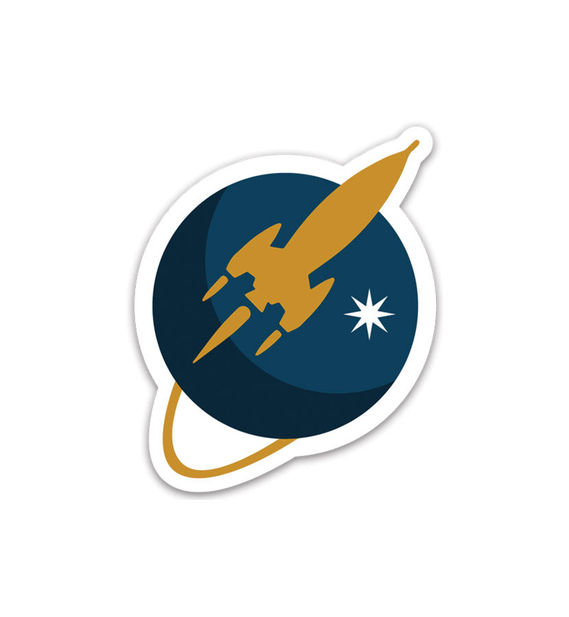 To The Stars Inc. Liftoff Sticker - To The Stars...