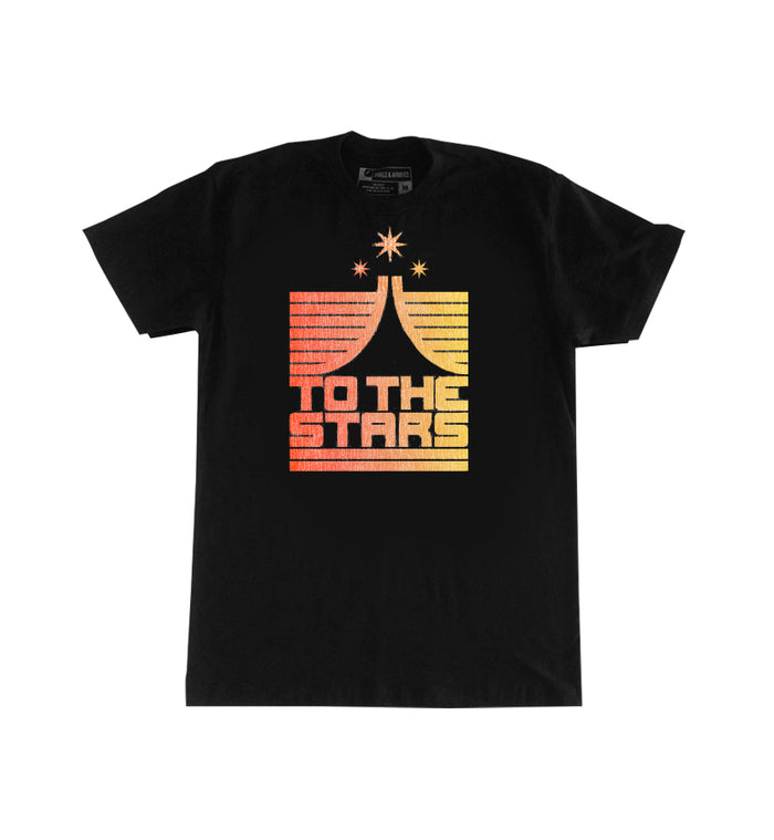 To The Stars... Liftoff T-Shirt Black - To The Stars...