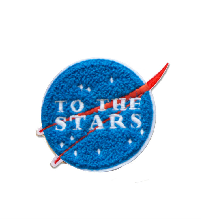 To The Stars... Meatball Chenille Patch - To The Stars...