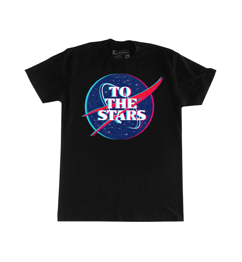 To The Stars... Meatball T-Shirt Black