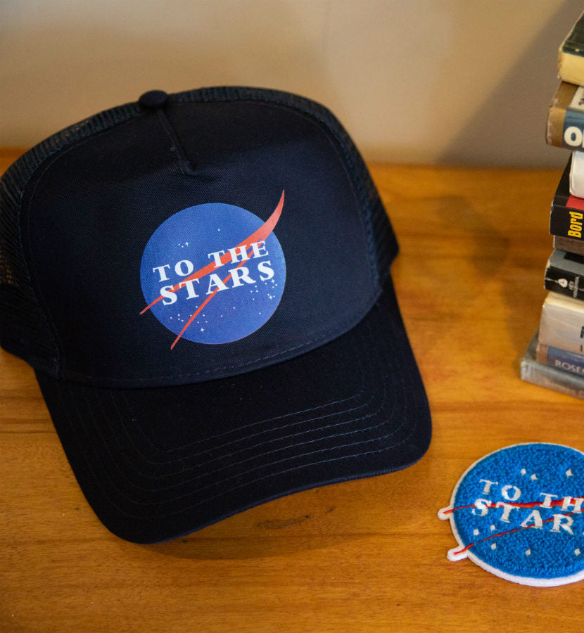 To The Stars... Meatball Trucker Hat Navy - To The Stars...