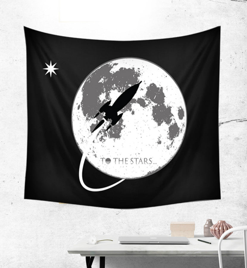 To The Stars... Moon Tapestry Lifestyle
