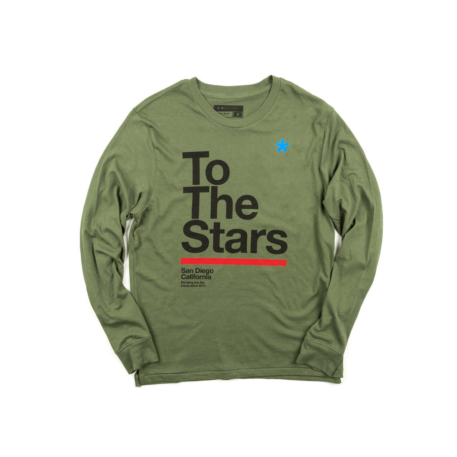 Package L/S T-Shirt Military