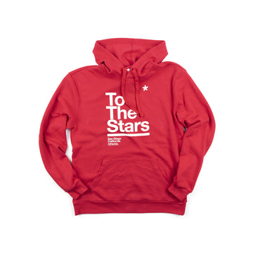 To The Stars Package Pullover Hoodie Red | ToTheStars.Media