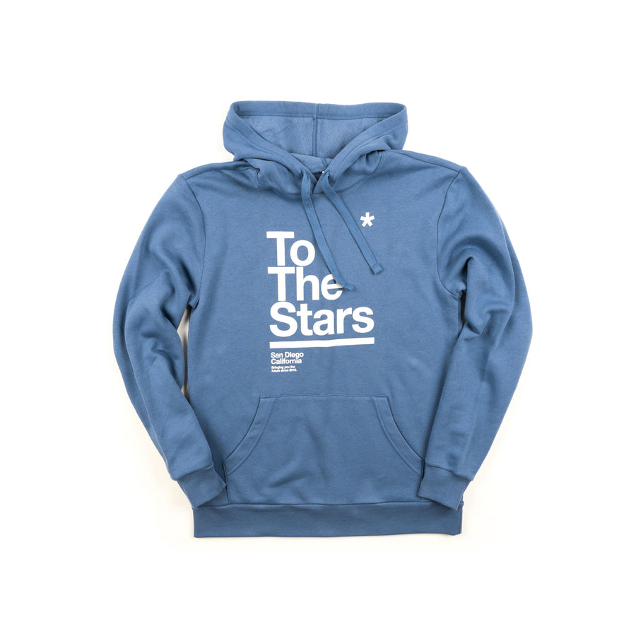 To The Stars Package Pullover Hoodie Royal | ToTheStars.Media