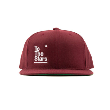 Package Snapback Hat Maroon