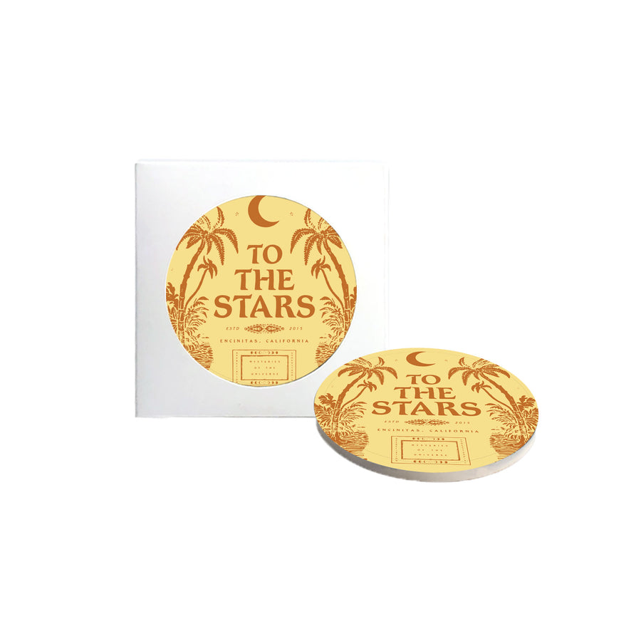 To The Stars Inc. Palms Coaster Set - To The Stars...