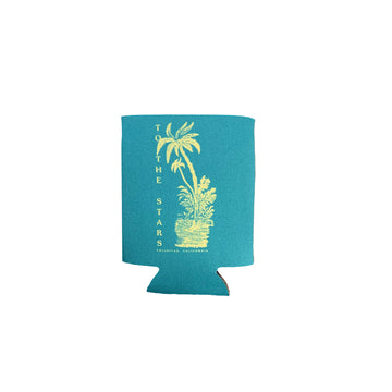 Palms Koozie Teal