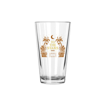 To The Stars Inc. Palms Pint Glass - To The Stars...