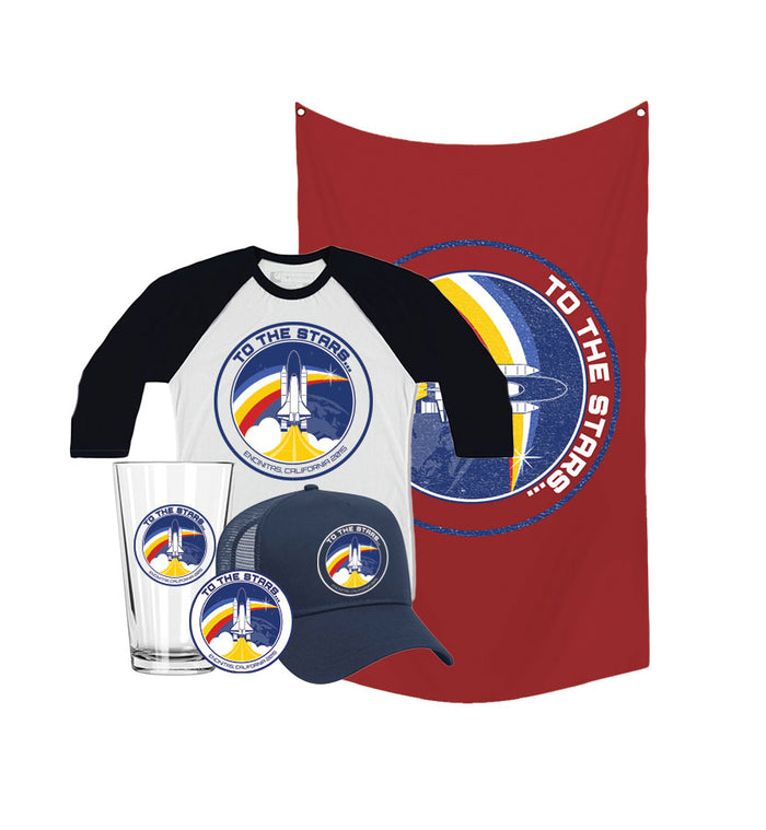 Retro Space Launch Gift Set