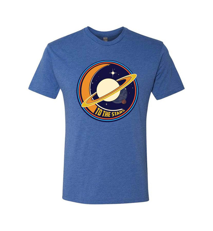 To The Stars... Saturnday T-Shirt Royal - To The Stars...