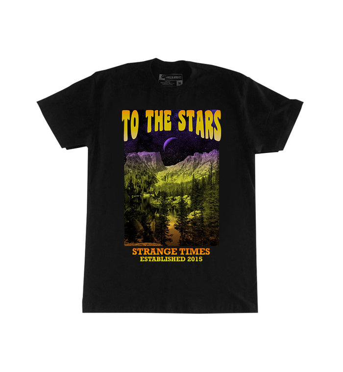 To The Stars... Space Rock T-Shirt Black - To The Stars...