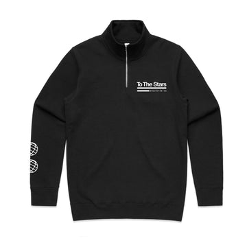 Tech Labs Half Zip Crew Black