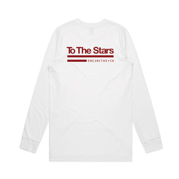 Tech Labs L/S T-Shirt White/Red